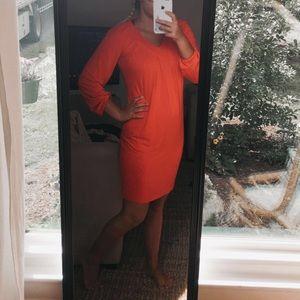 Red /orangish Calvin Klein Dress !